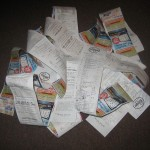 1 month's receipts