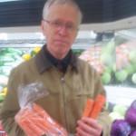 Days 365+48b Jim w carrots