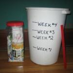 Progress? (Week 5 is in the jar)